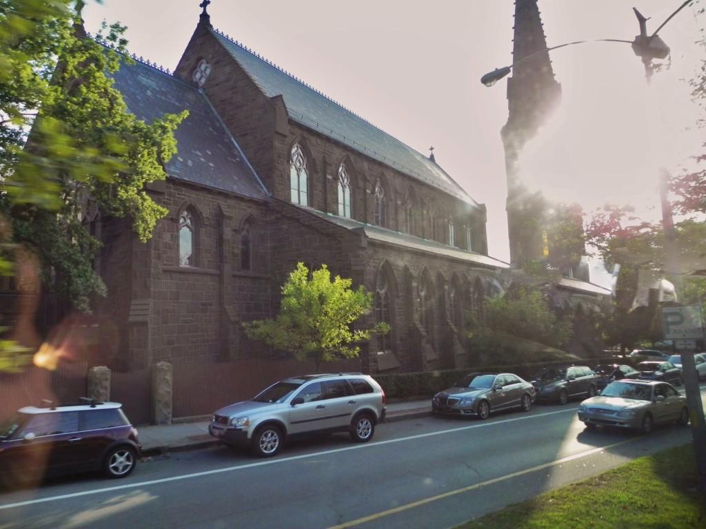 La St. Mary's Church, la chiesa in cui JFK sposò Jackie