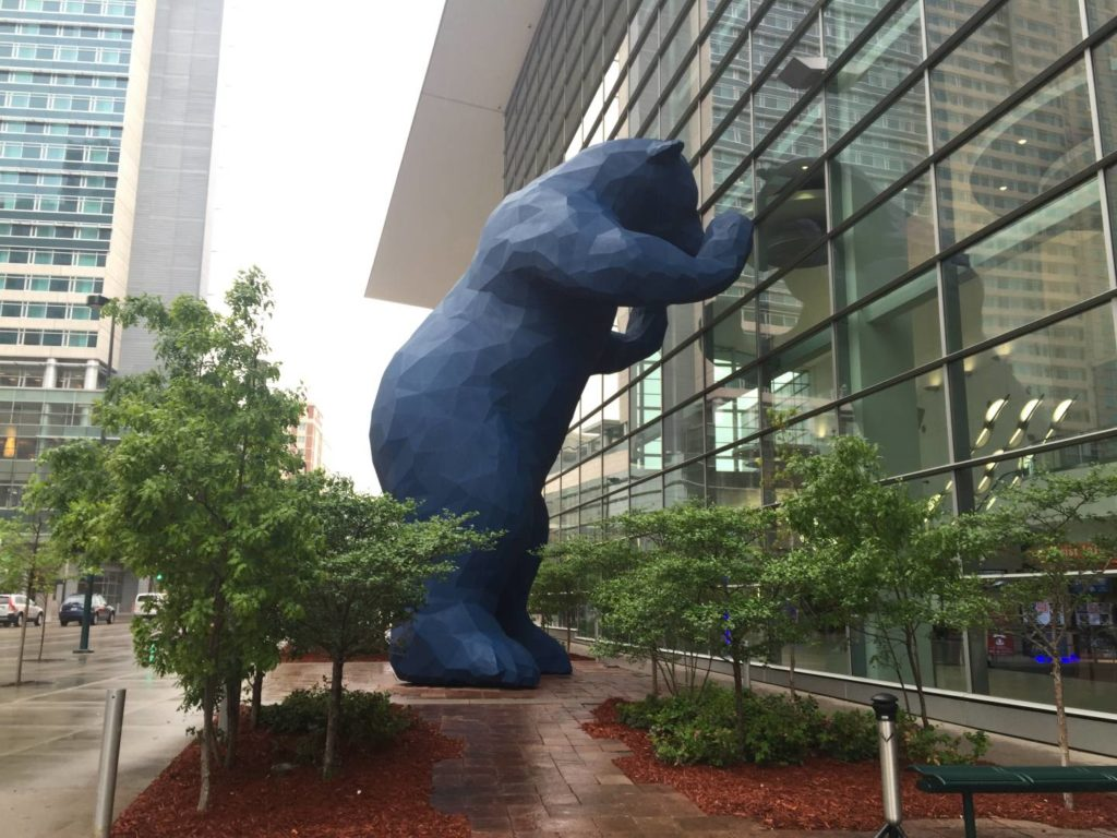 Discover Denver: the Blue Bear