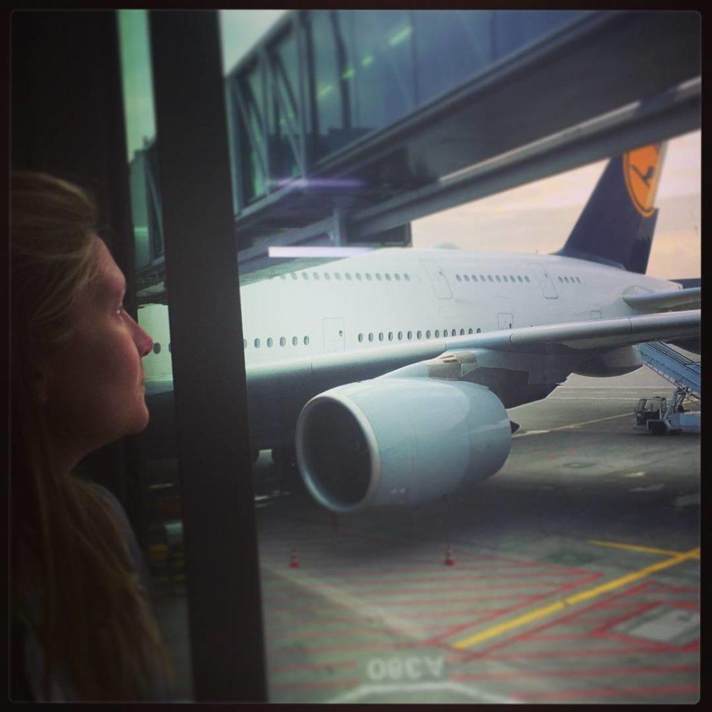 Lufthansa, in attesa del mio prossimo volo