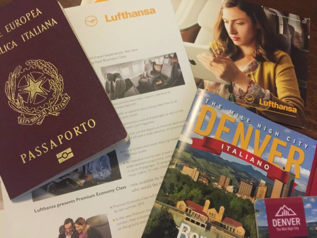 Verso Denver, in viaggio con Lufthansa