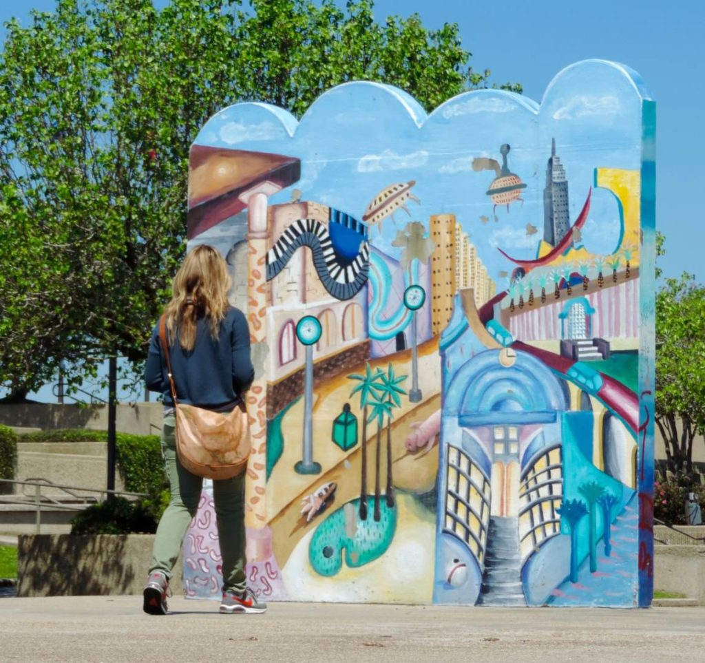 Visit Baton Rouge: murals on the River Road