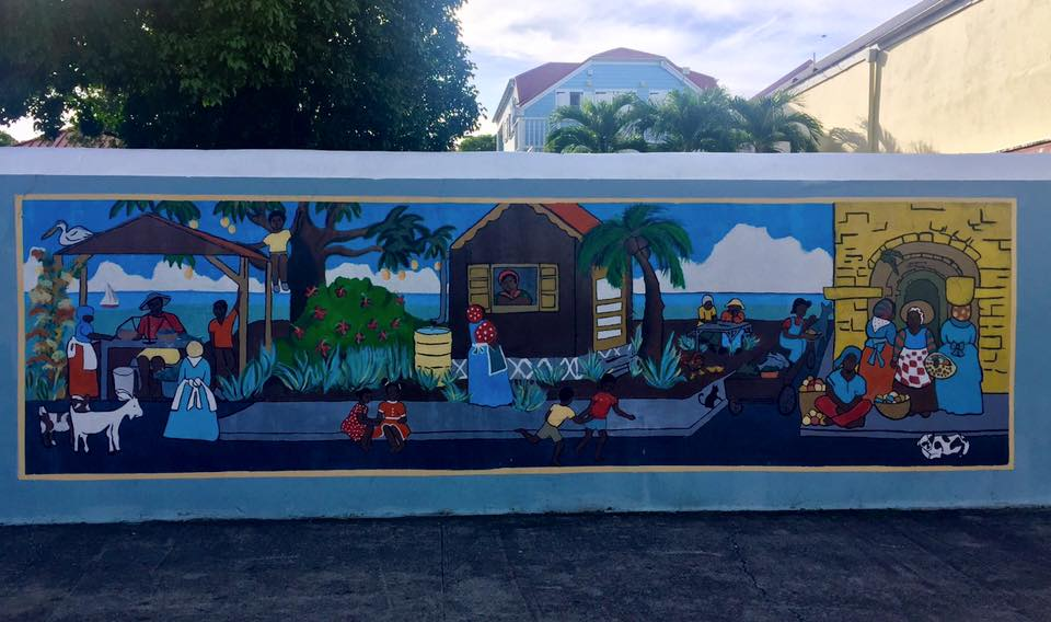 Visitare St. Croix: murales a Frederiksted