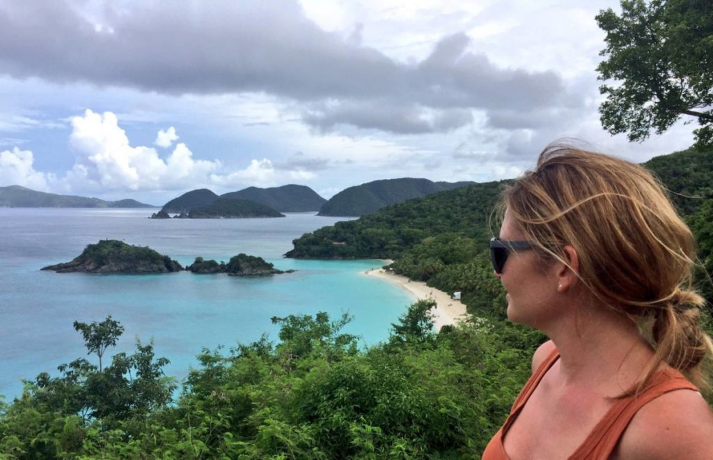 Visitare le US Virgin Islands: St. John, Trunk bay
