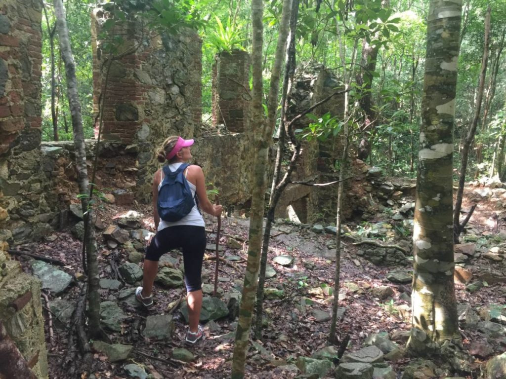 Visitare le US Virgin Islands: Trekking a st. John