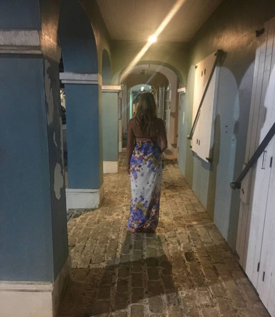 Visit St. Croix: walking through the colonial arcades of Christiansted