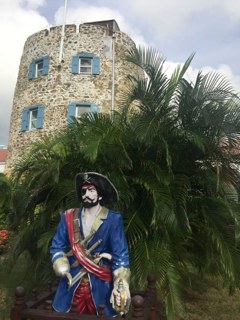 Visitare le US Virgin Islands: St. Thomas, il castello di Barbanera