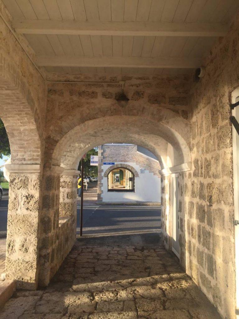 Visit St. Croix: Federiksted colonial arcades