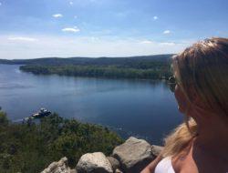 Panoramica sul Connecticut River