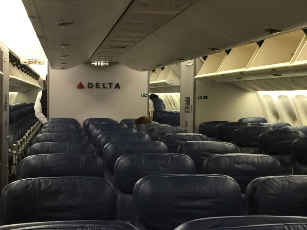 Fly with Delta Airlines, Comfort Plus cabin
