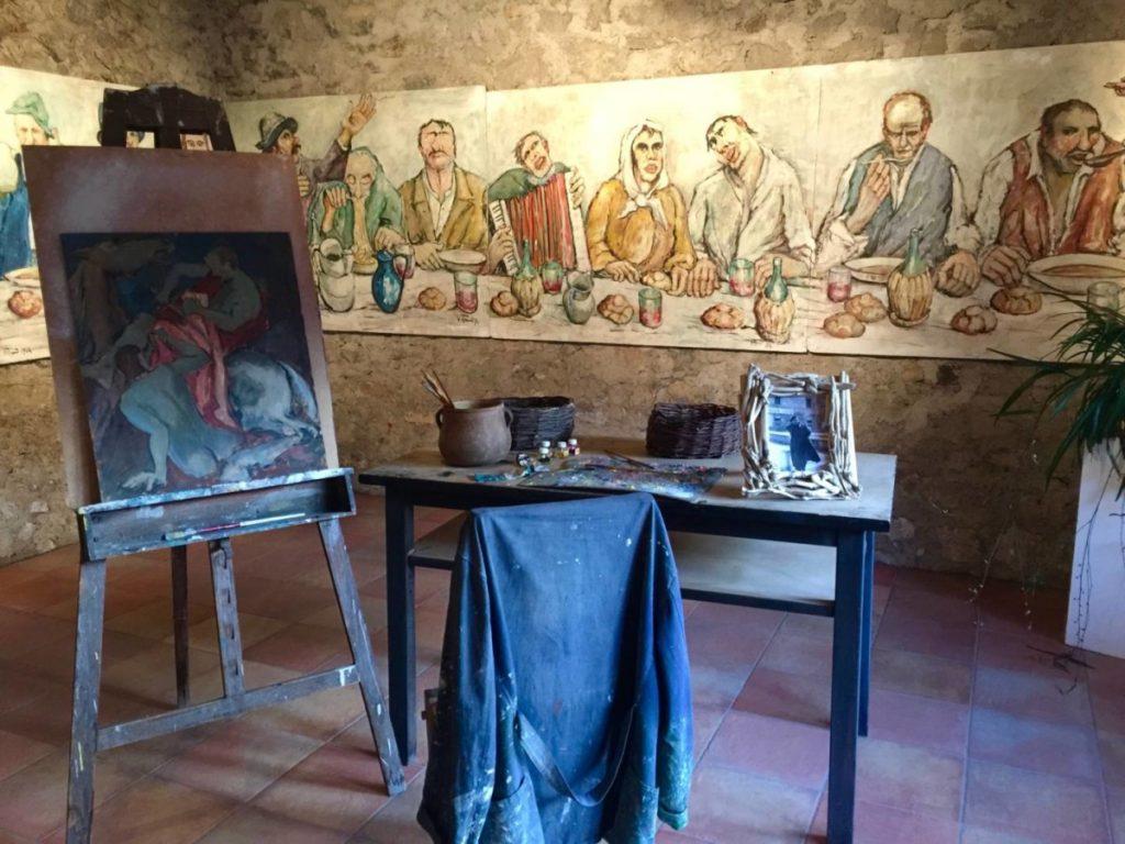 Weekend nel Garda Trentino: Canale di Tenno, la Casa degli Artisti, lo studio di Giacomo Vittone