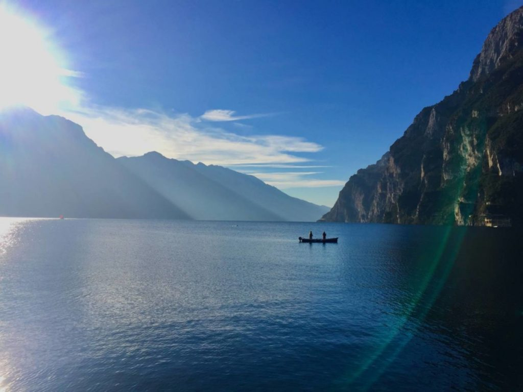 Weekend in Garda Trentino: Riva, view of Lake Garda