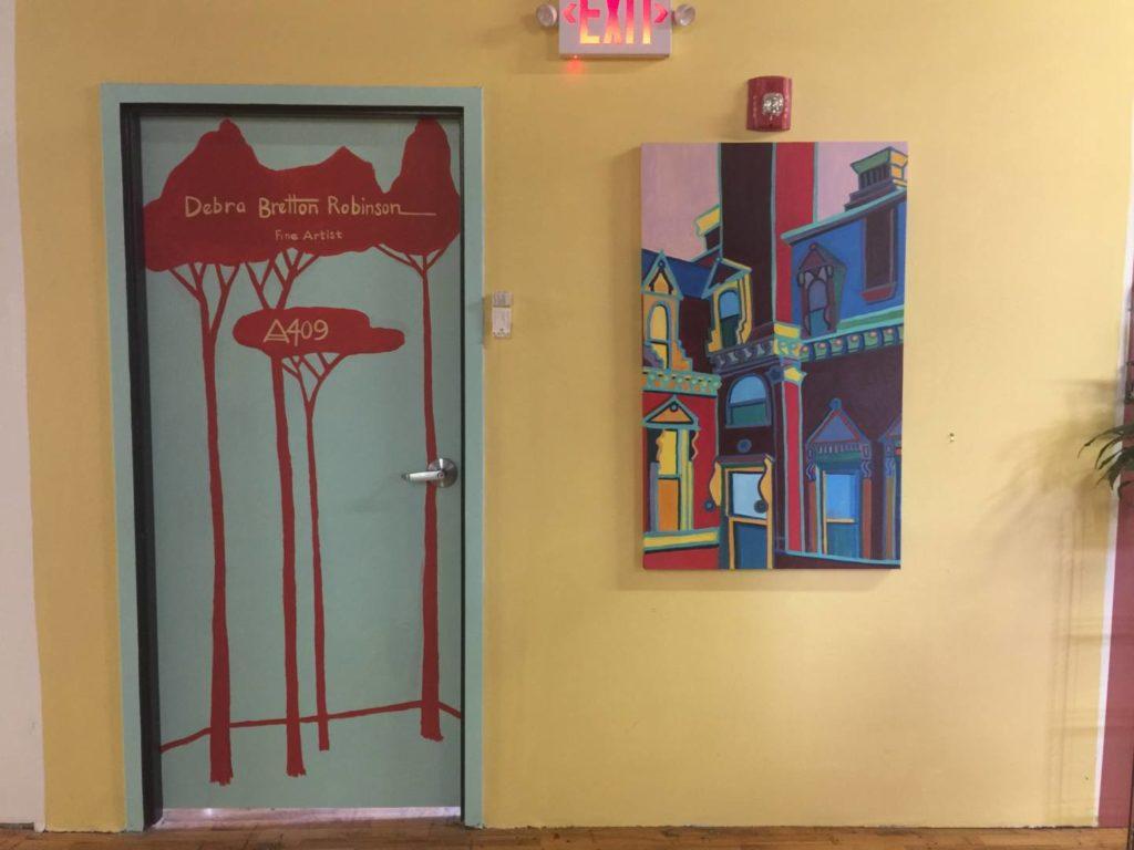 Foliage in New England: Western Avenue Studios, inside