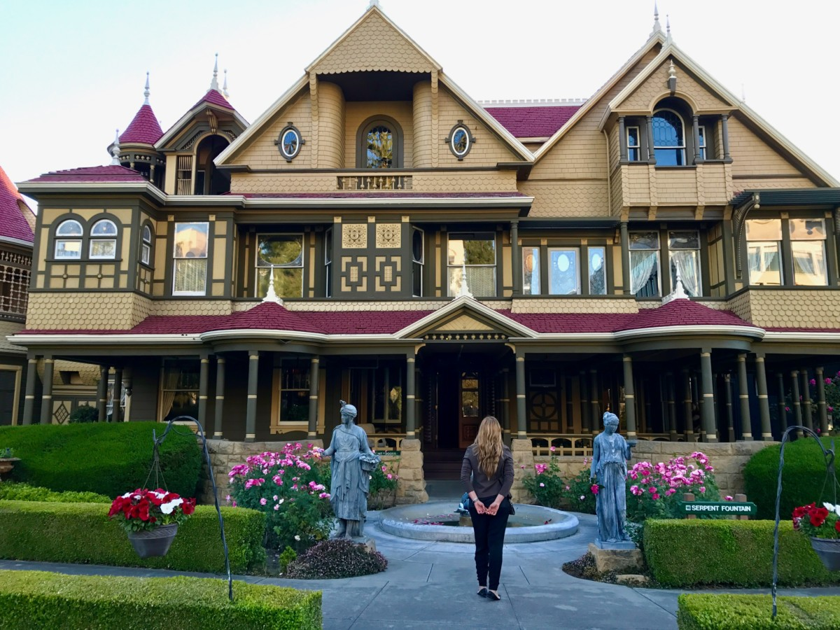 visit the winchester mystery house in san jose california