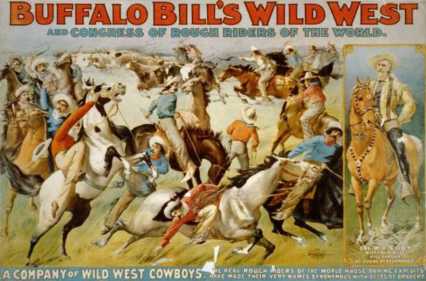 Storie e leggende napoletane: Wild West Show, locandina