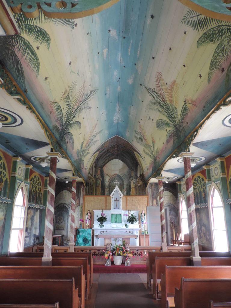 Kona Coast, la Chiesa di St. Benedict, interno
