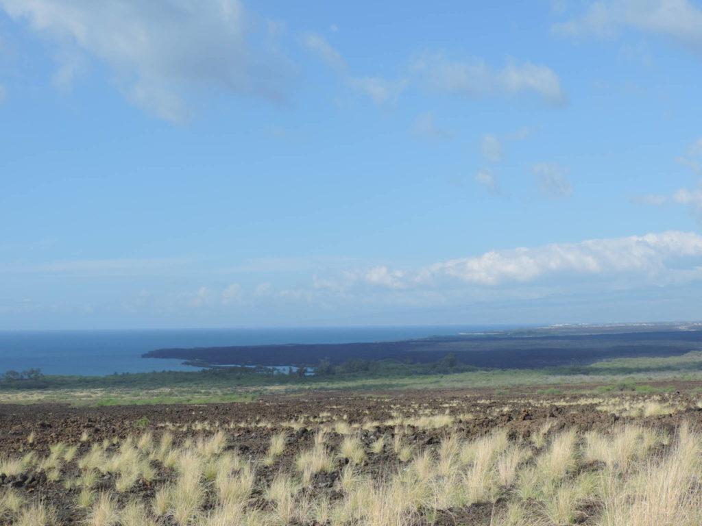 Big Island, la costa est, brulla e selvaggia