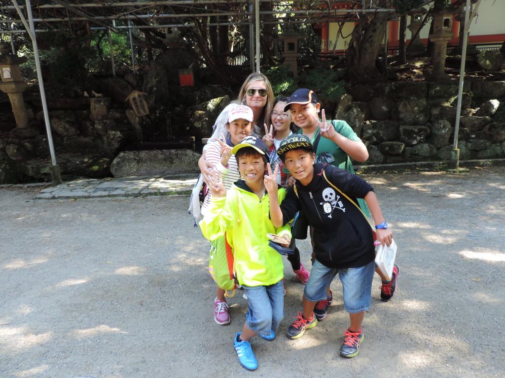Nara, scolari giapponesi soddisfatti dopo la mia intervista