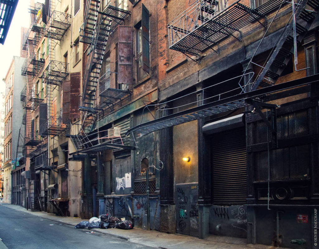 New York insolita: Cortlandt Alley