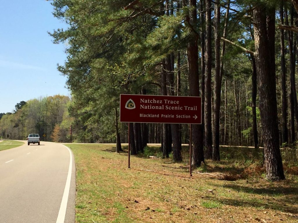USA on the Road:Natchez Trace Parkway
