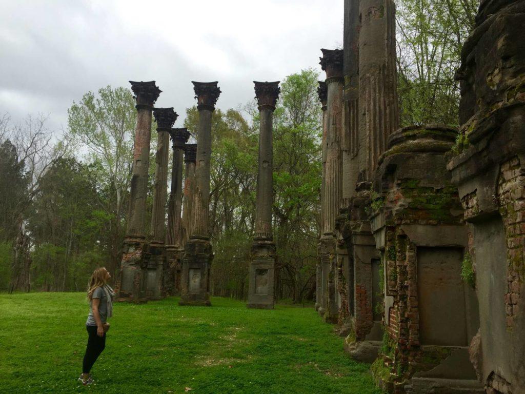 USA on the Road: Windsor Ruins, Mississippi