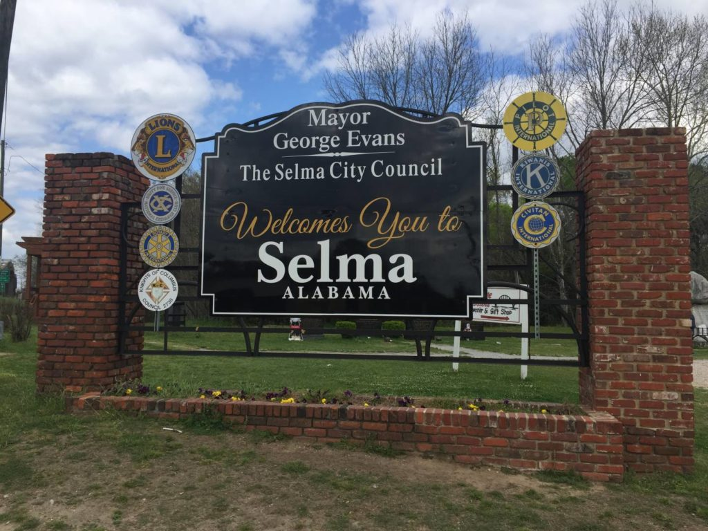 USA on the road: Selma, Alabama