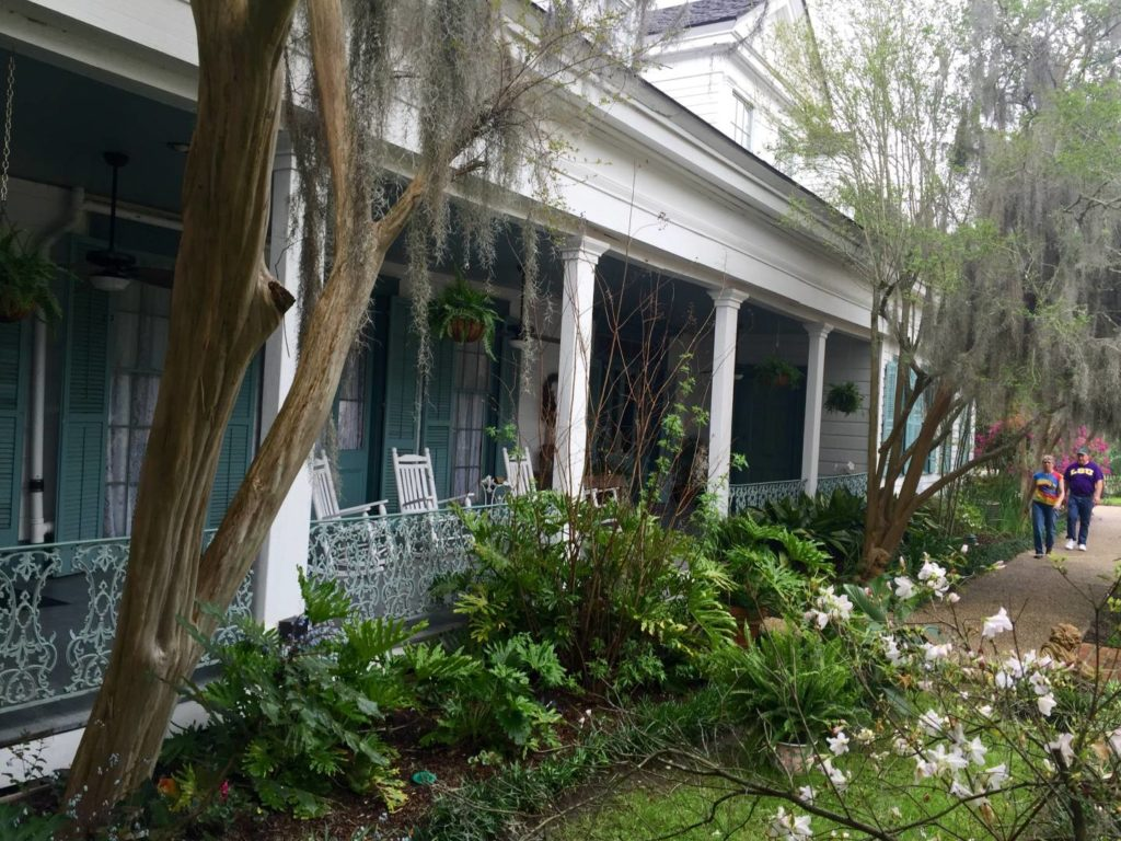 USA on the road: Myrtles Plantation