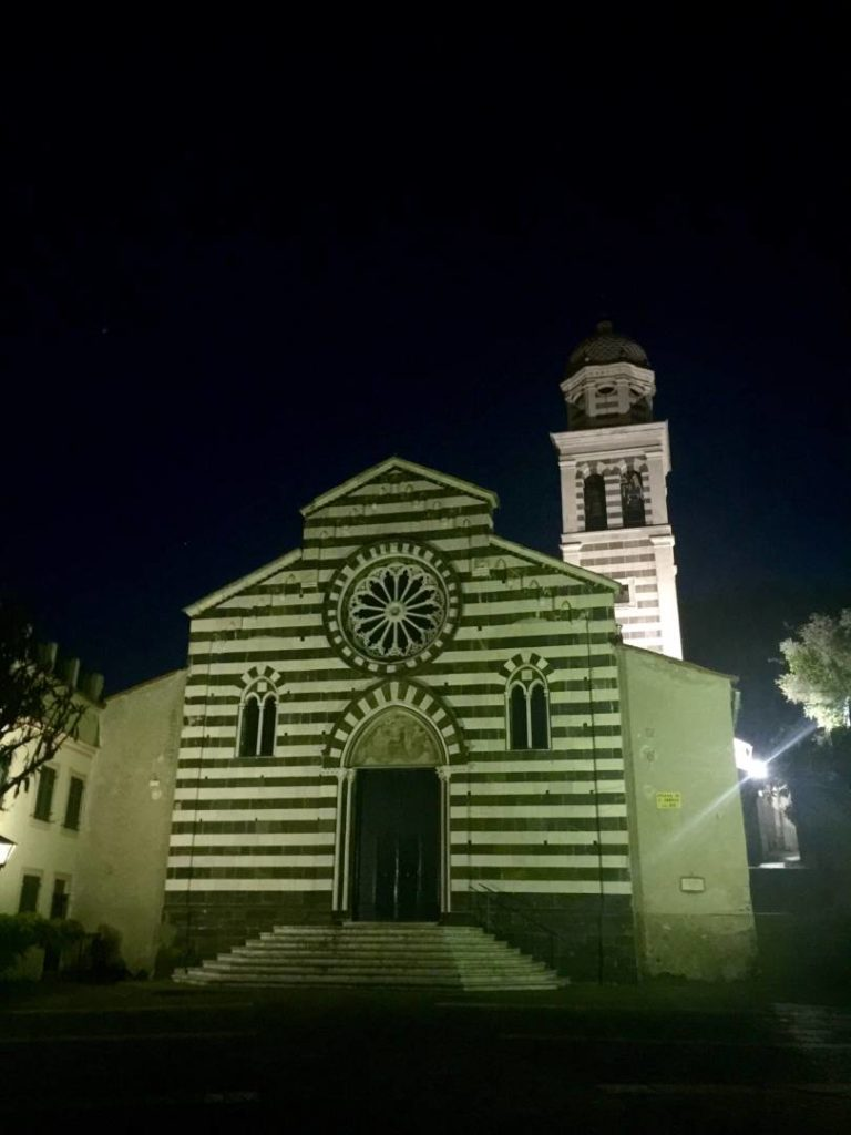 Weekend a Levanto: la chiesa di S. Andrea