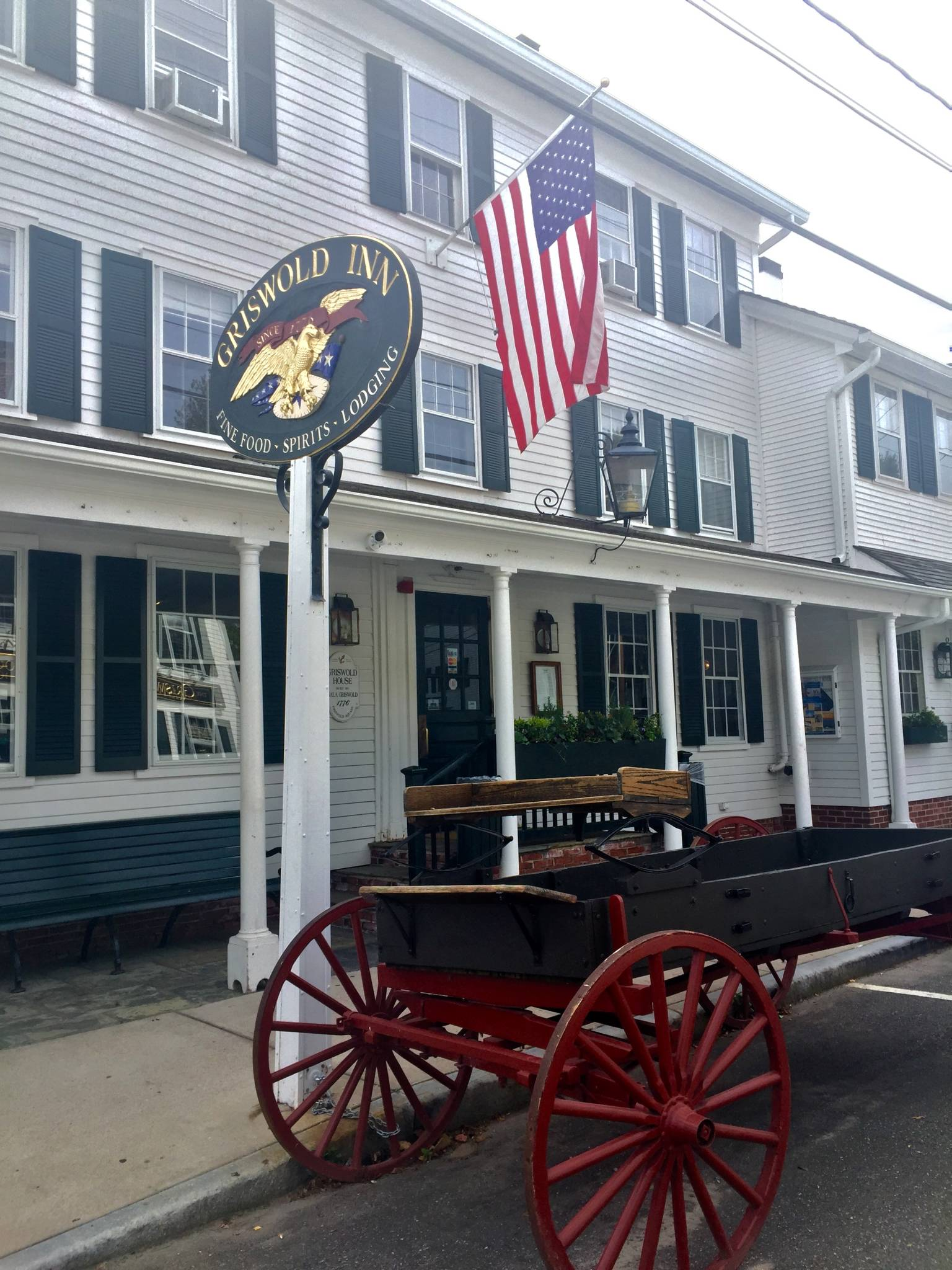Griswold Inn, US' oldest inn – open for more that 200 years