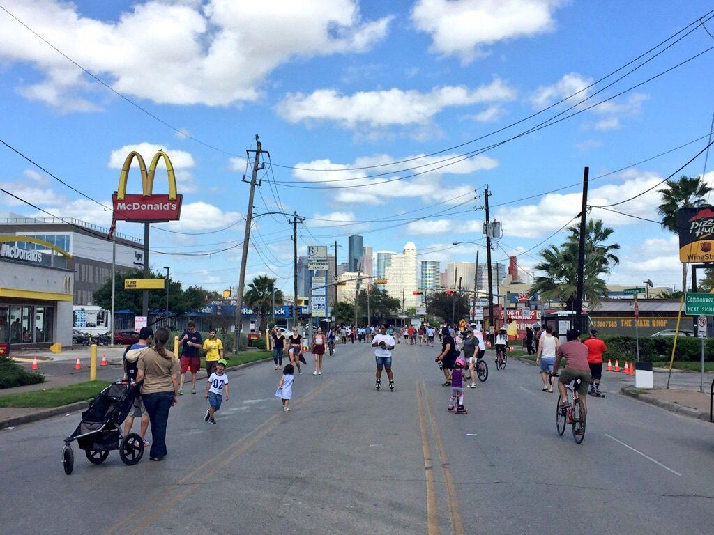 Sunday Streets nel quartiere di Montrose