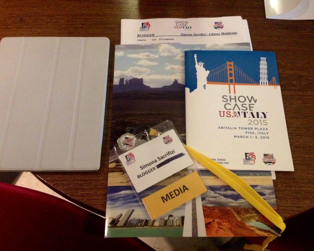 Pronta per SHOWCASE USA-Italy 2015