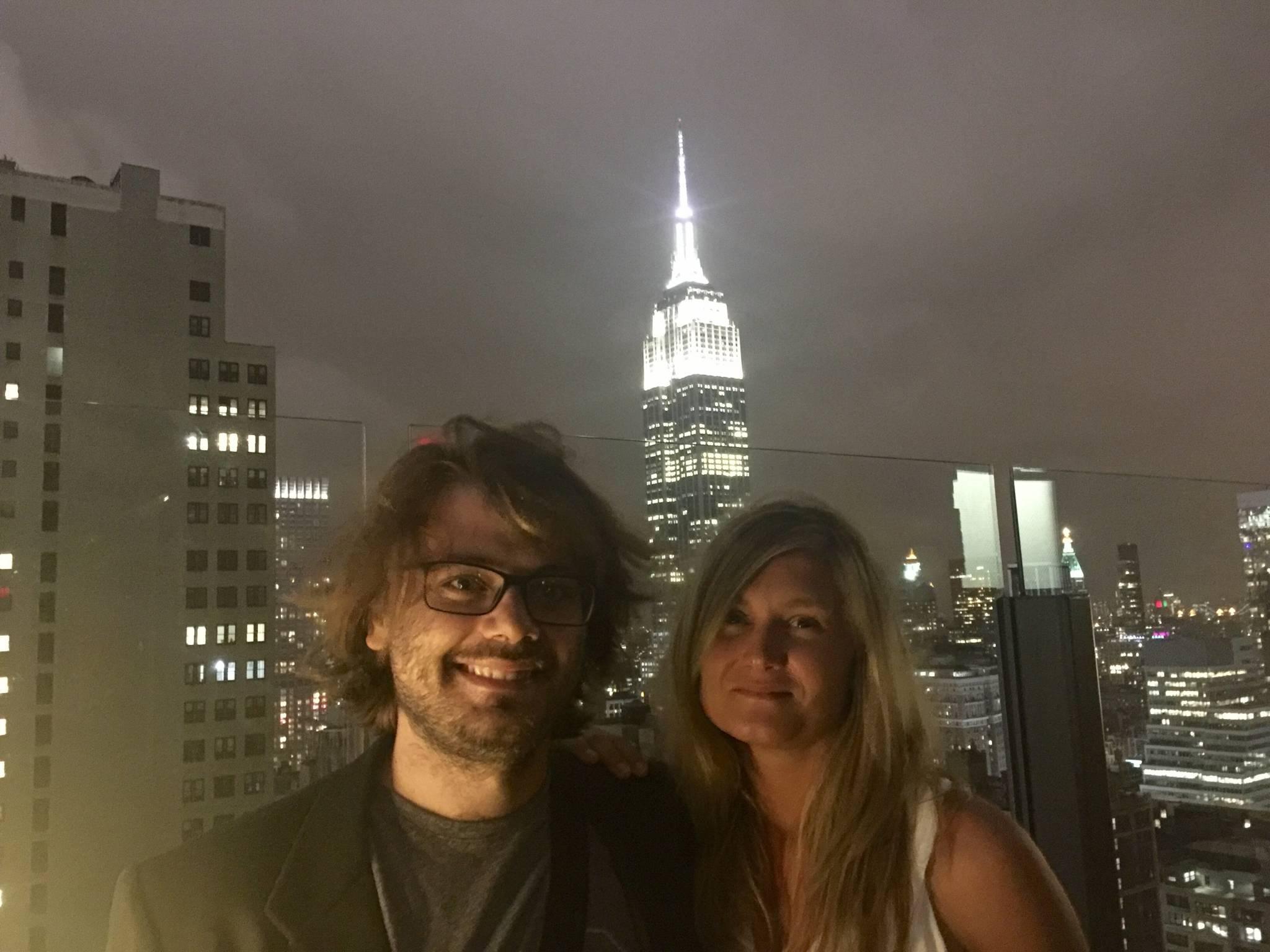 Piero and I from the Skylark