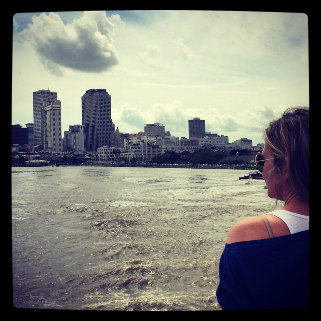 Navigando sul Mississippi, direzione New Orleans