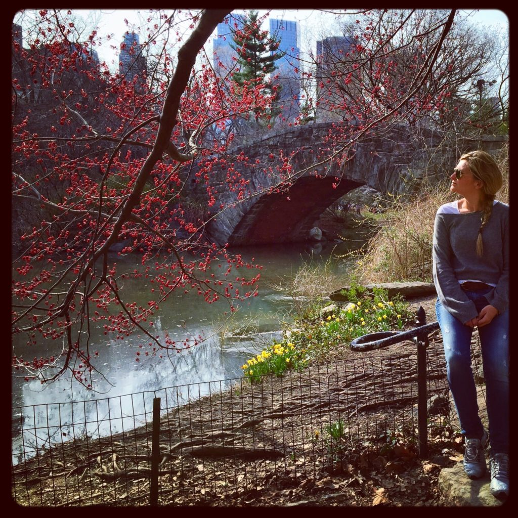 Momenti, Central Park, New York