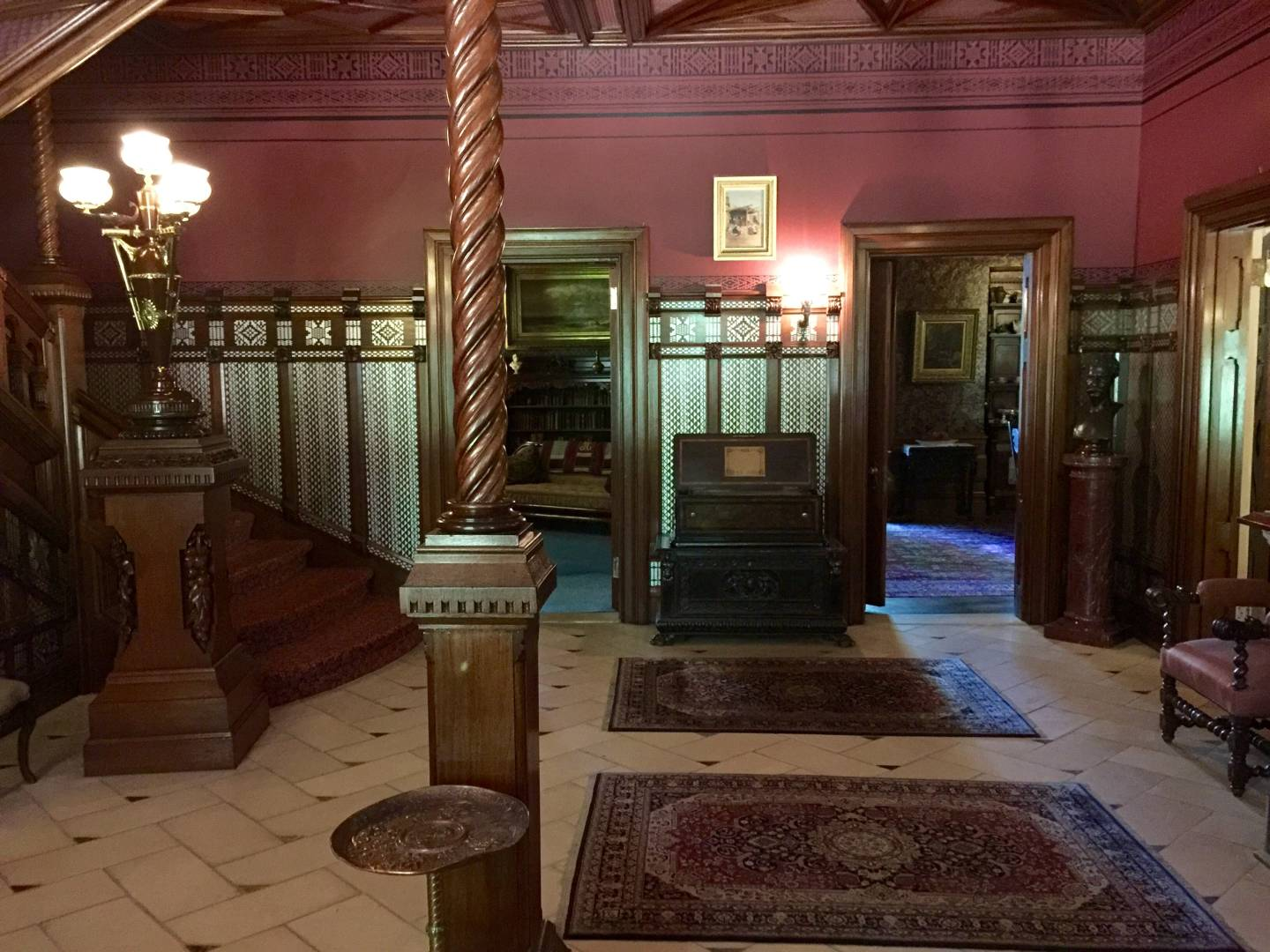 Mark Twain House, the entrance
