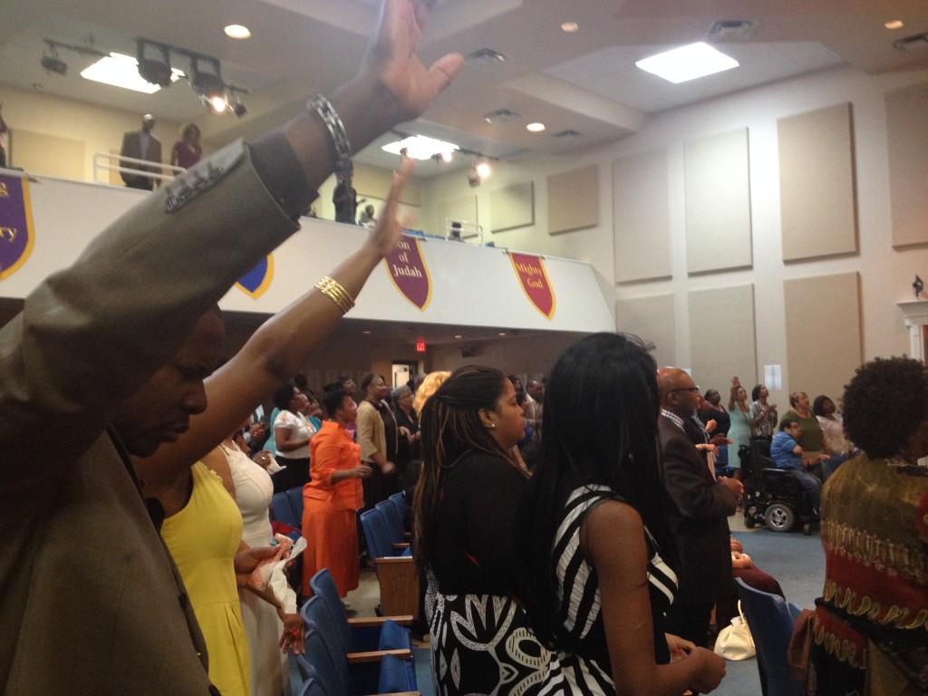 La preghiera incessante del Black Gospel, Nashville