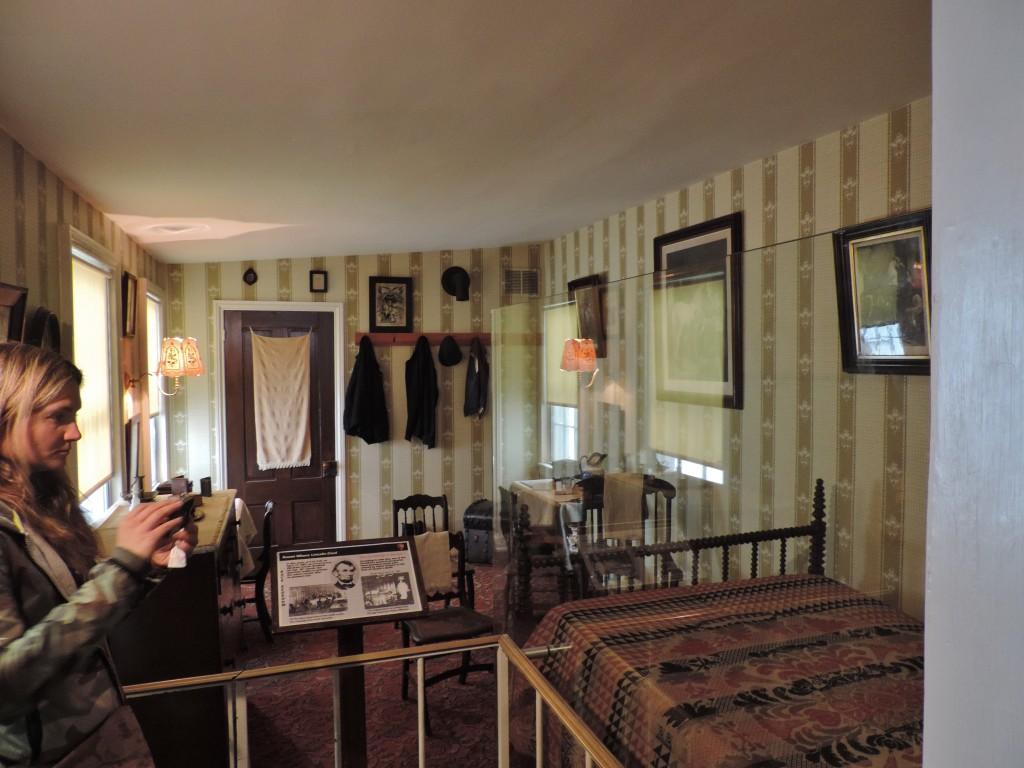 La stanza in cui morì Lincoln