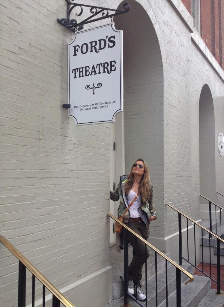 L'ingresso al Ford's Theatre