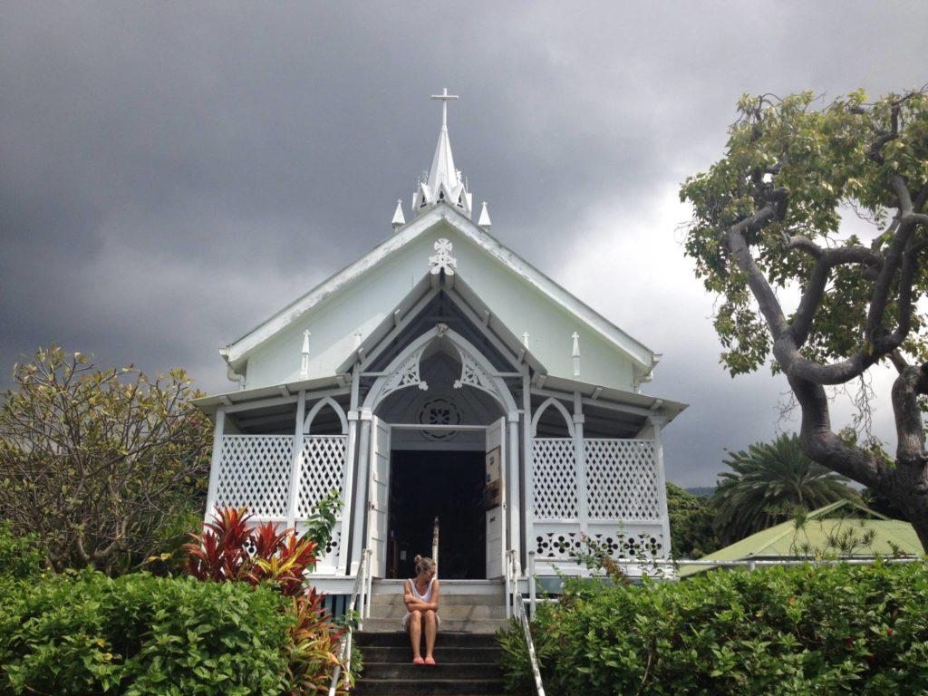 Kona Coast, la Chiesa di St. Benedict's, esterno
