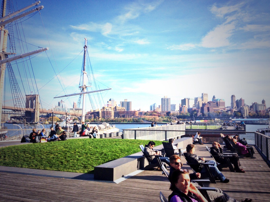 The South Street Seaport